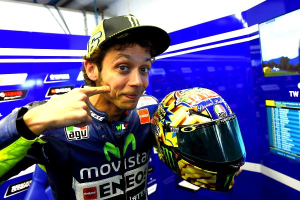 Valentino-Rossi-AGV-Helmet - NEW